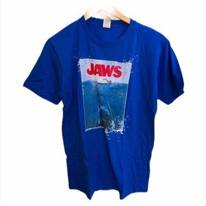 PACIFIC NWOT Blue Jaws Movie Graphic Tee